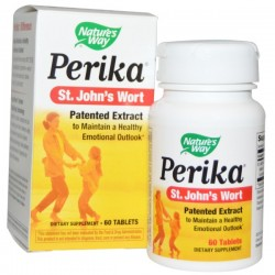 Perika st. johns wort tablets by natures way - 60 ea