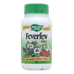 Natures Way Feverfew Capsules - 100 ea