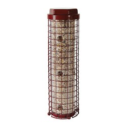 Woodstream Wildbird dilemma e-z caged bird feeder - 4 pound, 6 ea