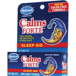 Hylands Calms Forte Non-Habit Forming Sleep Aid Tablets - 100 Each