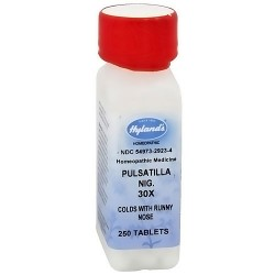 Hylands cold with runny nose Pulsatilla nigricans 30X tablets - 250 ea