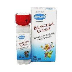 Hylands Homeopathic Bronchial Cough tablets - 100 ea