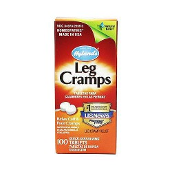 Hylands Leg Cramp with quinine, 100% Natural - 100 ea