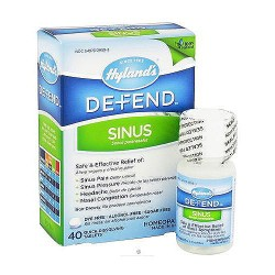 Hylands defend sinus quick dissolving tablets - 40 ea