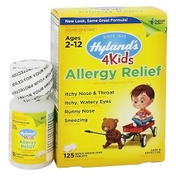 Hylands 4Kids Allergy Relief Tablets, Homeopathic - 125 ea