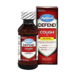 Hylands Defend Homeopathic Non-Drowsy Cough Syrup - 4 oz
