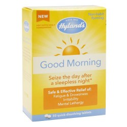 Hylands homeophaty good morning tablets aleart aid - 50 ea