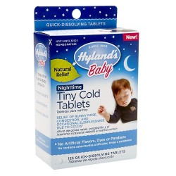 Hylands homeopathy baby nighttime tiny cold tablets - 125 ea