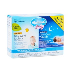 Hyland's baby day time & night time tiny cold tablets - 250 ea