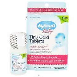 Hylands Baby Tiny Cold Tablets - 125 ea