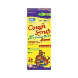 Hylands homeopathic Cough syrup with honey 4 kids, 100% natural - 4 oz