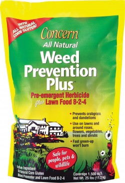 Woodstream Lawn & Grdn D concern weed prevention plus herbicide - 25 pound, 1 ea