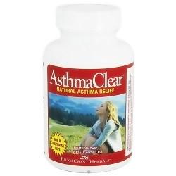 Ridgecrest Herbals asthma clear vegetarian capsules - 60 ea
