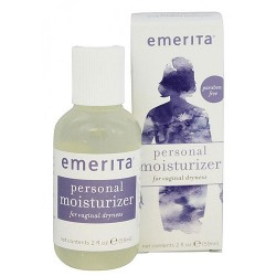 Emerita personal moisturizer with Aloe and Vitamin E for menopause support - 2 oz