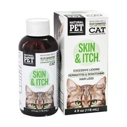 King Bio Natural Pet Pharmaceuticals, Skin and Itch Control for Cat, 4 oz