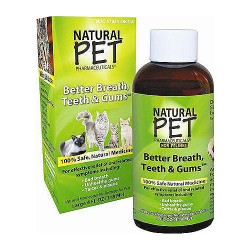 King Bio Natural Pet Medicines Teeth and Gums for Cat - 4 oz