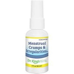 Dr. Kings natural medicine homeopathic menstrual cramps and irregularities - 2 oz