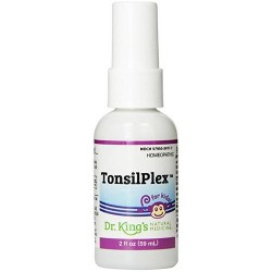 Dr. Kings natural medicine homeopathic tonsilplex for kids - 2 oz