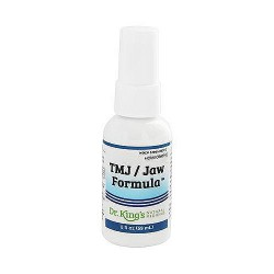 Dr. Kings natural medicine homeopathic TMJ and Jaw formula  - 2 oz
