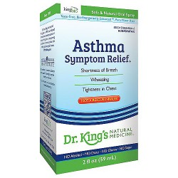Dr. Kings natural medicine homeopathy asthma symptom relief - 2 oz