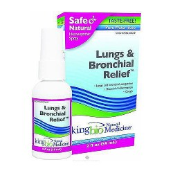 Dr. Kings natural medicine homeopathic lungs and bronchial relief  - 2 oz