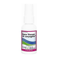 Dr. Kings natural medicine homeopathic sore throat and laryngitis - 2 oz
