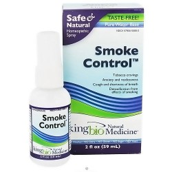 King bio natural medicine smoke control - 2 oz