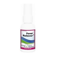 Dr. Kings natural medicine homeopathic fever reliever spray - 2 oz