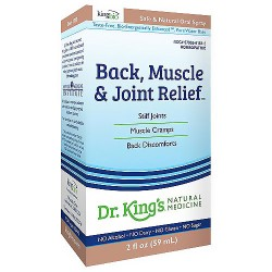 Natural Medicine back, muscle and joint relief homeopathic spray - 2 oz