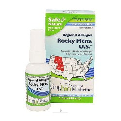 Dr. Kings natural medicine homeopathic regional alleries rocky mtns u.s - 2 oz