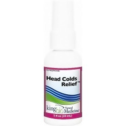 Dr. Kings natural medicine homeopathic heads colds relief - 2 oz
