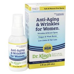 King bio homeopathic anti aging and wrinkles women  - 2 oz
