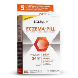 Lomalux eczema pill homeopathic oral medication  -  60 ea