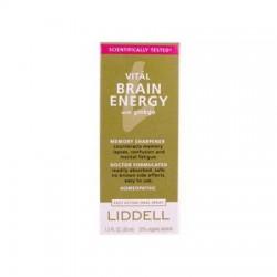 Liddell Homeopathic Brain Energy Spray - 1 oz