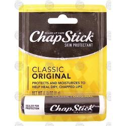 Chapstick lip balm - 6 ea