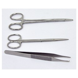 TopCare cuticle scissors - 6 ea