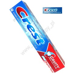 Crest toothpaste cavity protection regular paste - 4 ea