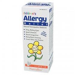 Natra-bio botanical labs Children's Allergy - 1 oz