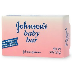 Johnsons baby soap bar for face and body, gentle fragrance - 3 oz