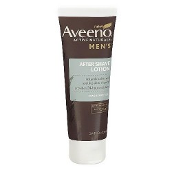 Aveeno active naturals mens after shave lotion - 3.4 oz