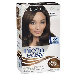Clairol Nice N Easy ultra light natural blonde hair color, dark brown - 1 ea