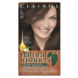 Natural Instincts By Clairol, Hair color, Clove (Medium cool Brown) #24 - 1 Ea