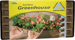 Jiffy/Ferry Morse Seed Co seed starter strip n greenhouse tray superthrive - 50 cell, 16 ea