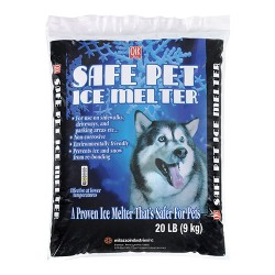 Milazzo Industries, Inc. qik joe safe pet ice melter - 20 pound bag, 1 ea