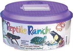 Lee'S Aquarium & Pet reptile ranch round - small, 4 ea