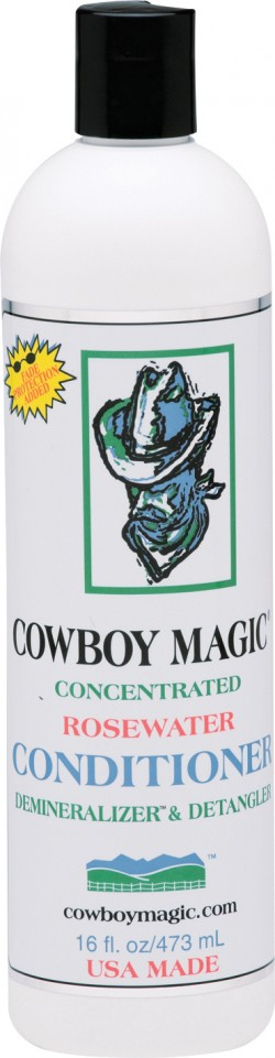 Straight Arrow Products D cowboy magic rosewater conditioner - 16 ounce, 6 ea