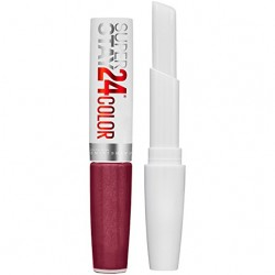 Maybelline superstay step lipcolor, unlimited raisin -  2 ea, 2 pack