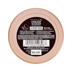 Maybelline dream wonder face powder, creamy natural - 2 ea