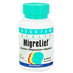 Quantum Health Migrelief Tablets - 60 ea