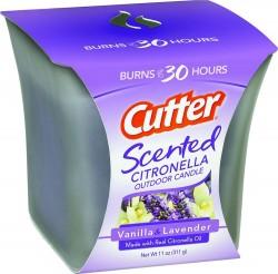 Spectracide outdoor scented citronella candle - 11oz., 6 ea